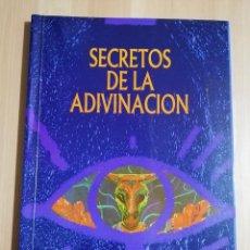 Libros de segunda mano: SECRETOS DE LA ADIVINACIÓN (COLECCIÓN OCULTISMO Y PARAPSICOLOGÍA) EDICIONES UNIVERSIDAD Y CULTURA. Lote 244451805