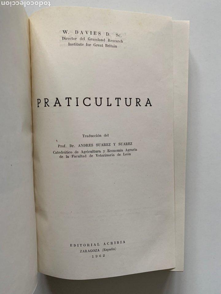 Libros de segunda mano: William Davies. Praticultura. Hierba. Ganadería. Alimentación del ganado. Forraje. Primera edición. - Foto 2 - 244507360
