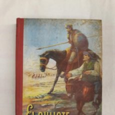 Libros de segunda mano: DE CERVANTES SAAVEDRA, MIGUEL. EL QUIJOTE. EDICIÓN ESCOLAR. Lote 244519105