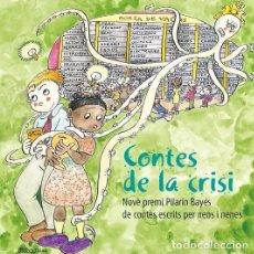 Libros de segunda mano: CONTES DE LA CRISI - IDIOMA CATALÁN. Lote 244525095