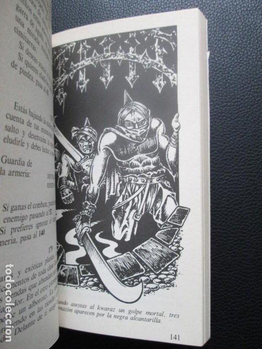 Libros de segunda mano: Lobo Solitario. Nº5. El Desierto de las Sombras. Librojuego - Foto 3 - 244535375