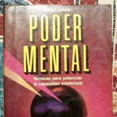 Livres d'occasion: PODER MENTAL DAVID LEWIS. Lote 244545090