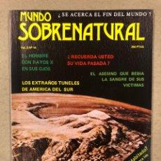 Libros de segunda mano: MUNDO SOBRENATURAL VOL. 2 N° 14 (1980). ¿SE ACERCA EL FIN DEL MUNDO?, MARTE.. ¿PLANETA HABITADO?,.. Lote 244554635