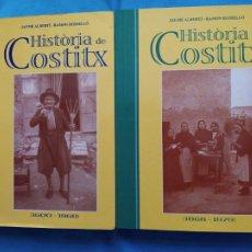 Libros de segunda mano: HISTORIA DE COSTITX - COMPLETA - JAUME ALBERTÍ I RAMÓN ROSSELLÓ. Lote 244583010