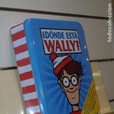 Livres d'occasion: ¿DONDE ESTA WALLY? CINCO LIBROS CON ESTUCHE METALICO MARTIN HALFORD - PENGUIN RANDOM HOUSE OFERTA. Lote 244588835