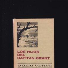 Libros de segunda mano: LOS HIJOS DEL CAPITAN GRANT - JULIO VERNE - EDITORIAL BRUGUERA 1968 / 3ª EDICION. Lote 244616810