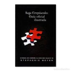 Libri di seconda mano: SAGA CREPÚSCULO: GUÍA OFICIAL ILUSTRADA. Lote 244717140