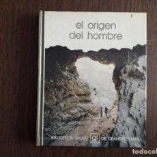 Libros de segunda mano: LIBRO USADO, EL ORIGEN DEL HOMBRE, BIBLIOTECA SALVAT DE GRANDES TEMAS.. Lote 244722490