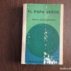 Libros de segunda mano: LIBRO USADO, EL PAPA VERDE, MIGUEL ANGEL ASTURIAS. BIBLIOTECA GENERAL SALVAT.. Lote 244726970