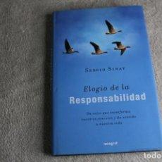 Libros de segunda mano: ELOGIO DE LA RESPONSABILIDAD SERGIO SINAY 2007. Lote 244758915