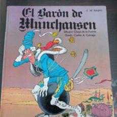 Libros de segunda mano: CLASICOMICS EL BARÓN DE HUNCHAUSEN. Lote 244865060