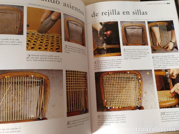 Libros de segunda mano: Una guía paso a paso para la restauración y reparación de muebles. Alan Smith / Chris Jarrey - Foto 6 - 244880095