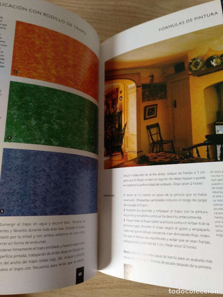 Libros de segunda mano: 150 fórmulas de pintura decorativa. El manual más completo de acabados de pintura. Liz Wagstaff. - Foto 5 - 244880525