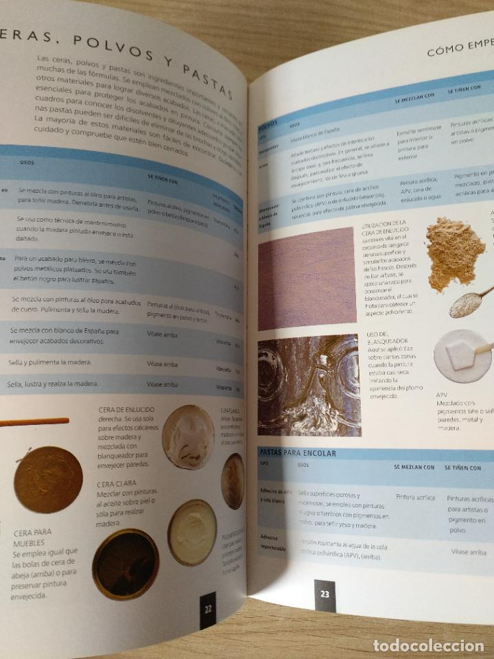 Libros de segunda mano: 150 fórmulas de pintura decorativa. El manual más completo de acabados de pintura. Liz Wagstaff. - Foto 6 - 244880525