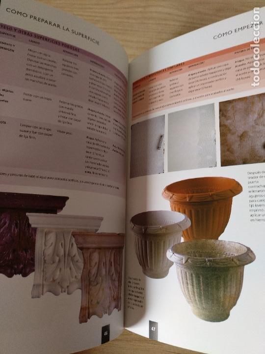 Libros de segunda mano: 150 fórmulas de pintura decorativa. El manual más completo de acabados de pintura. Liz Wagstaff. - Foto 7 - 244880525