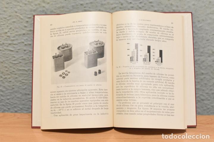 Libros de segunda mano: LAS SILICONAS-CH.E.REED- 1959-EN PERFECTO ESTADO - Foto 2 - 244882510