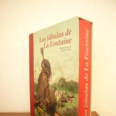 Libros de segunda mano: LAS FÁBULAS DE LA FONTAINE. ILUSTRACIONES DE GUSTAVO DORÉ (EDHASA, 2008) ED. ILUSTRADA EN ESTUCHE. Lote 244904595