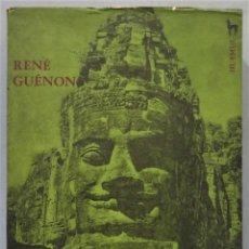 Libros de segunda mano: EL TEOSOFISMO. RENE GUENON. Lote 244908410