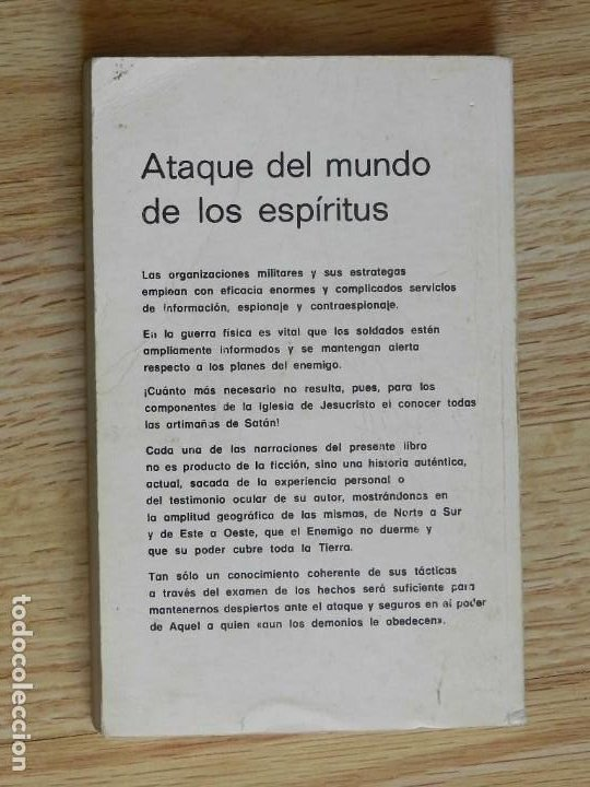 Libros de segunda mano: Ataque del mundo de los espíritus COMPILADO Antología de relatos año 1977 - Foto 2 - 244911510