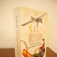 Libros de segunda mano: BILL BRYSON: 1927: UN VERANO QUE CAMBIÓ EL MUNDO (RBA, 2015) EXCELENTE ESTADO. Lote 244912515