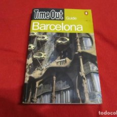 Libros de segunda mano: BARCELONA GUIA TIME OUT 1996 EN INGLES PENGUIN BOOKS. Lote 244913440