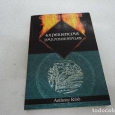 Libros de segunda mano: LIBRO ANTIGUO ESOTERISMO CIENCIAS OCULTAS EXPERIENCIAS PARANORMALES ANTHONY RIBB. Lote 244916025