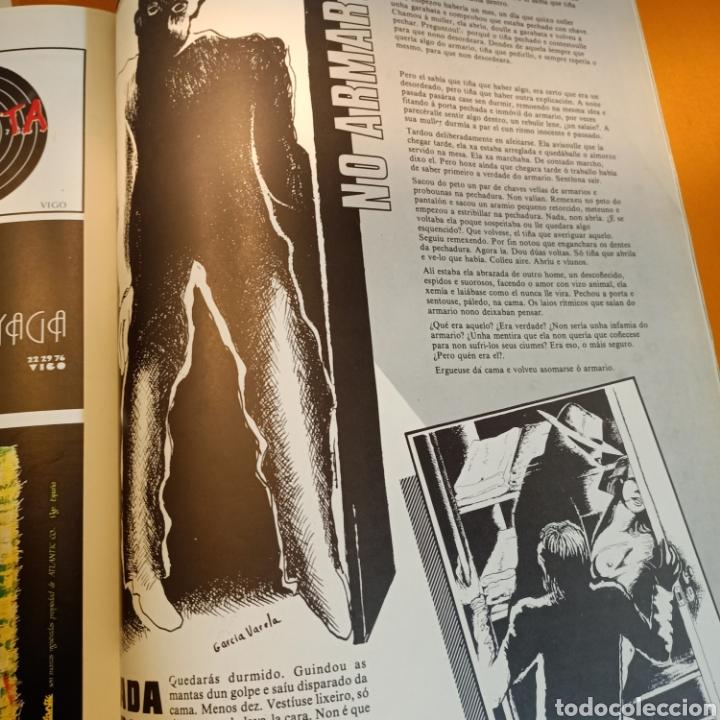 Libros de segunda mano: TINTIMAN Nº 2, REVISTA DE CULTO DE VIGO, FANZINE-MOVIDA-GRAFFITI- DISEÑO-ART-COMIC, 1984 - Foto 6 - 207522718