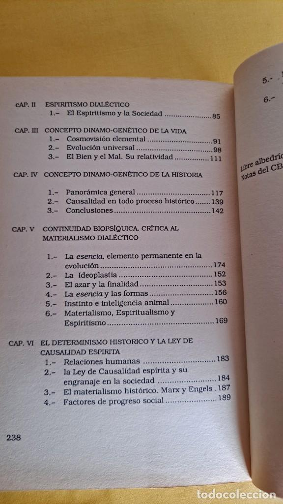 Libros de segunda mano: MANUEL S. PORTEIRO - ESPIRITISMO DIALÉCTICO - EDICOMUNICACION 1990 - Foto 5 - 244962620