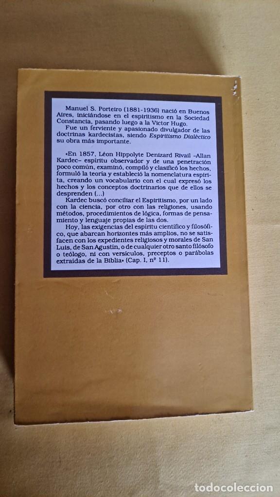 Libros de segunda mano: MANUEL S. PORTEIRO - ESPIRITISMO DIALÉCTICO - EDICOMUNICACION 1990 - Foto 7 - 244962620