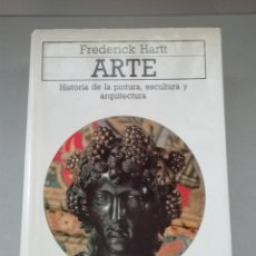 Libros de segunda mano: HISTORIA DE LA PINTURA, ESCULTURA Y ARQUITECTURA. FREDERICK HARTT. AKAL.. Lote 244968675