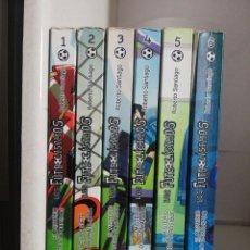 Libri di seconda mano: FUTBOLISIMOS LOTE 6 EJEMPLARES ( 1-6). Lote 245007810