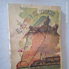 Libros de segunda mano: EL COCTEL Y SUS DERIVADOS. FERNANDO GAVIRIA. 1958. 91 PP. PUBLICIDAD DE ÉPOCA.. Lote 245040220