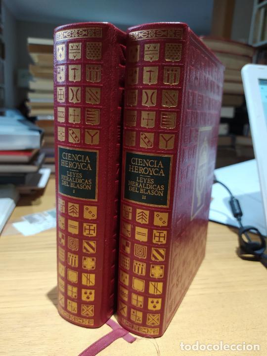 Libros de segunda mano: Ciencia Heroyca del blasón, facsímil de la de 1780. Tirada limitada y numerada. nº 414, 1979 RARO - Foto 2 - 245061345