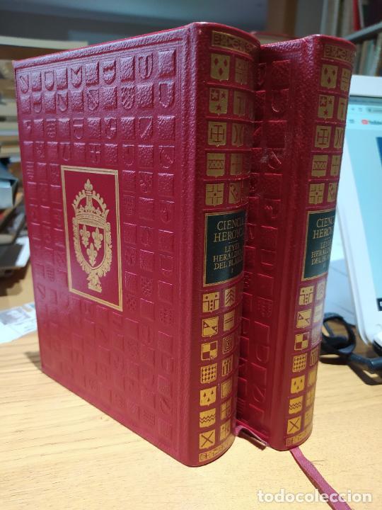 Libros de segunda mano: Ciencia Heroyca del blasón, facsímil de la de 1780. Tirada limitada y numerada. nº 414, 1979 RARO - Foto 4 - 245061345