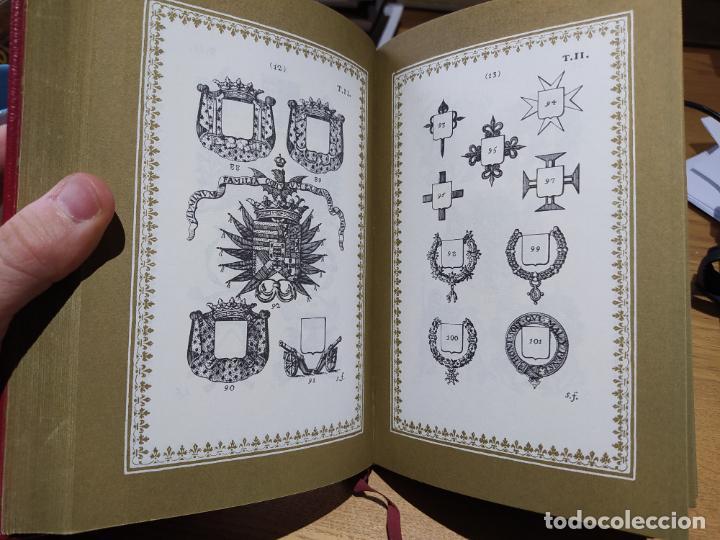 Libros de segunda mano: Ciencia Heroyca del blasón, facsímil de la de 1780. Tirada limitada y numerada. nº 414, 1979 RARO - Foto 18 - 245061345