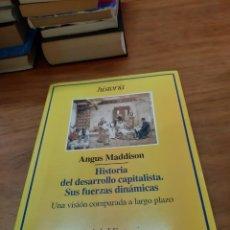 Libros de segunda mano: MADDISON ANGUS, HISTORIA DEL DESARROLLO CAPITALISTA. SUS FUERZAS DINÁMICAS, ARIEL, BARCELONA, 1998. Lote 245073065