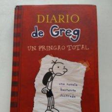 Libros de segunda mano: DIARIO DE GREG/ UN PRINGAO TOTAL. Lote 245133260