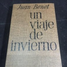 Libros de segunda mano: UN VIAJE DE INVIERNO. JUAN BENET. LA GAYA CIENCIA 1972. Lote 245171145