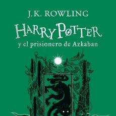 Libros de segunda mano: HARRY POTTER Y EL PRISIONERO DE AZKABAN (EDICIÓN SLYTHERIN DEL 20º ANIVERSARIO). Lote 245199795