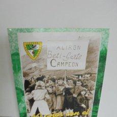 Libros de segunda mano: 60 AÑOS CON EL BETI GAZTE. 1940-2000. AYUNTAMIENTO DE LESAKA. 2000.. Lote 245217140