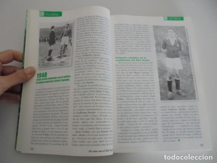Libros de segunda mano: 60 AÑOS CON EL BETI GAZTE. 1940-2000. AYUNTAMIENTO DE LESAKA. 2000. - Foto 9 - 245217140