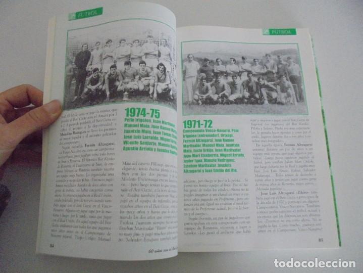 Libros de segunda mano: 60 AÑOS CON EL BETI GAZTE. 1940-2000. AYUNTAMIENTO DE LESAKA. 2000. - Foto 10 - 245217140