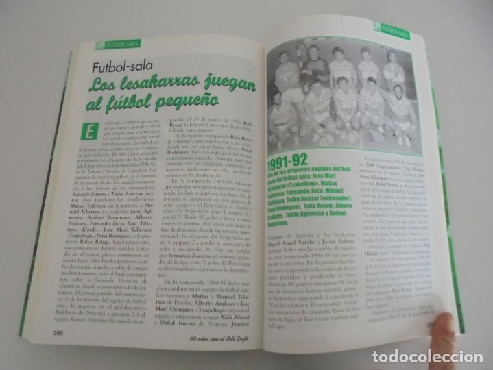 Libros de segunda mano: 60 AÑOS CON EL BETI GAZTE. 1940-2000. AYUNTAMIENTO DE LESAKA. 2000. - Foto 13 - 245217140