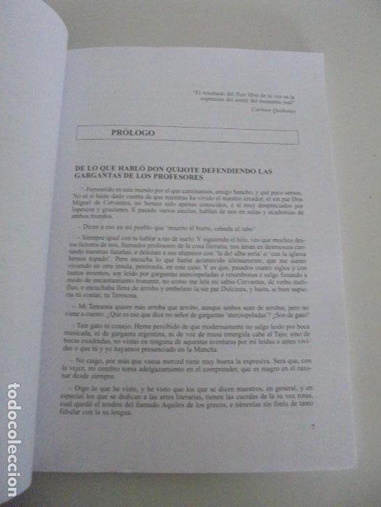 Libros de segunda mano: EL CUIDADO DE LA VOZ. EJERCICIOS PRACTICOS. CARMEN QUIÑONES. CISSPRAXIS. 2001. - Foto 6 - 245217670