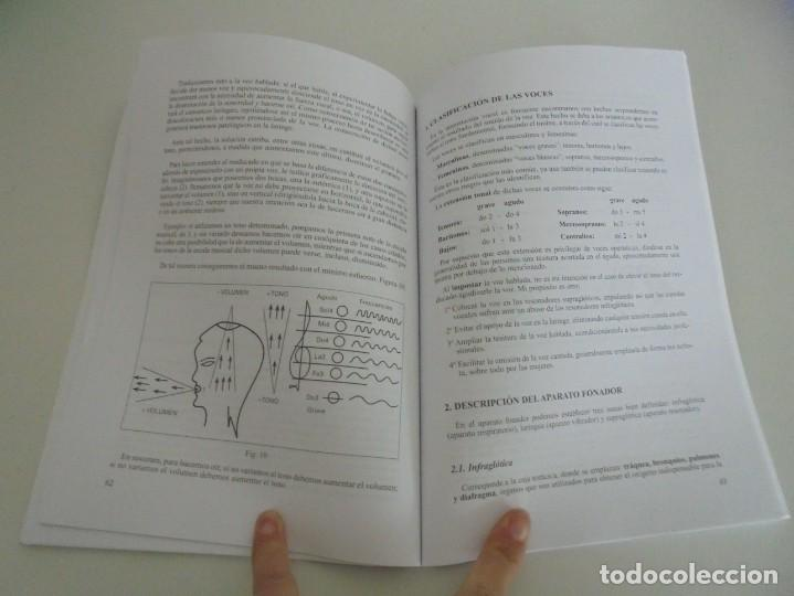 Libros de segunda mano: EL CUIDADO DE LA VOZ. EJERCICIOS PRACTICOS. CARMEN QUIÑONES. CISSPRAXIS. 2001. - Foto 10 - 245217670