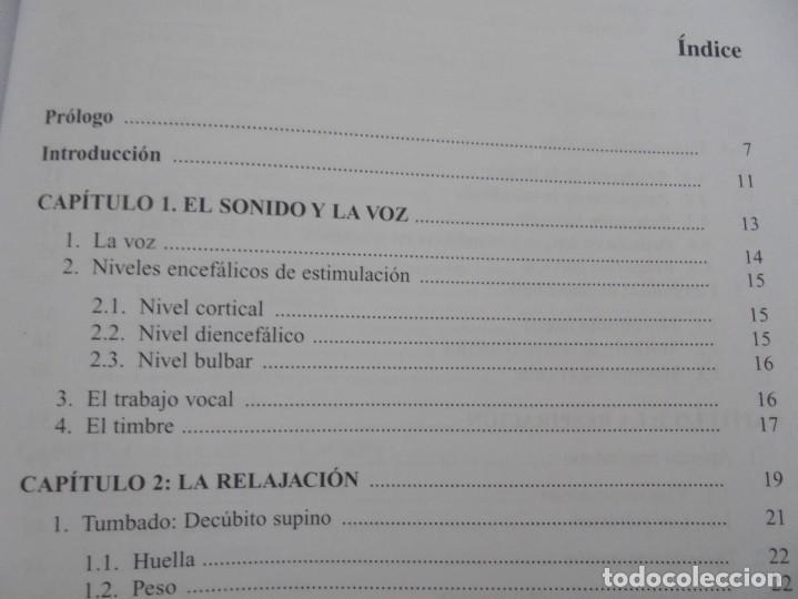 Libros de segunda mano: EL CUIDADO DE LA VOZ. EJERCICIOS PRACTICOS. CARMEN QUIÑONES. CISSPRAXIS. 2001. - Foto 12 - 245217670