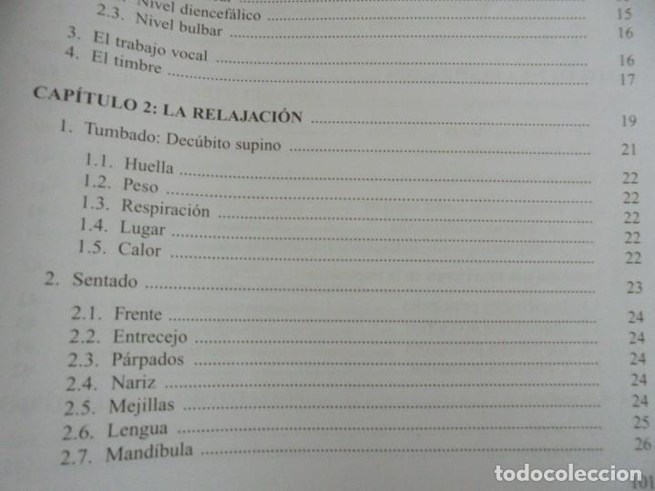 Libros de segunda mano: EL CUIDADO DE LA VOZ. EJERCICIOS PRACTICOS. CARMEN QUIÑONES. CISSPRAXIS. 2001. - Foto 13 - 245217670