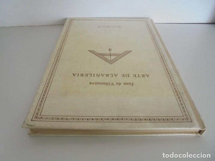 Libros de segunda mano: ARTE DE ALBAÑILERIA. JUAN DE VILLANUEVA. ASLAND. EDICIONES VELAZQUEZ. FACSIMIL. 1977 - Foto 5 - 245218500