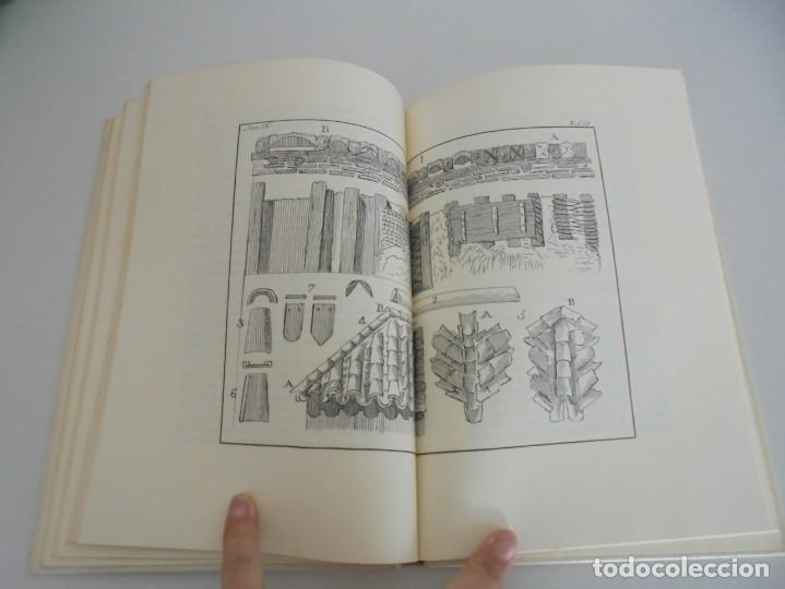 Libros de segunda mano: ARTE DE ALBAÑILERIA. JUAN DE VILLANUEVA. ASLAND. EDICIONES VELAZQUEZ. FACSIMIL. 1977 - Foto 12 - 245218500