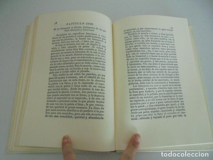 Libros de segunda mano: ARTE DE ALBAÑILERIA. JUAN DE VILLANUEVA. ASLAND. EDICIONES VELAZQUEZ. FACSIMIL. 1977 - Foto 13 - 245218500